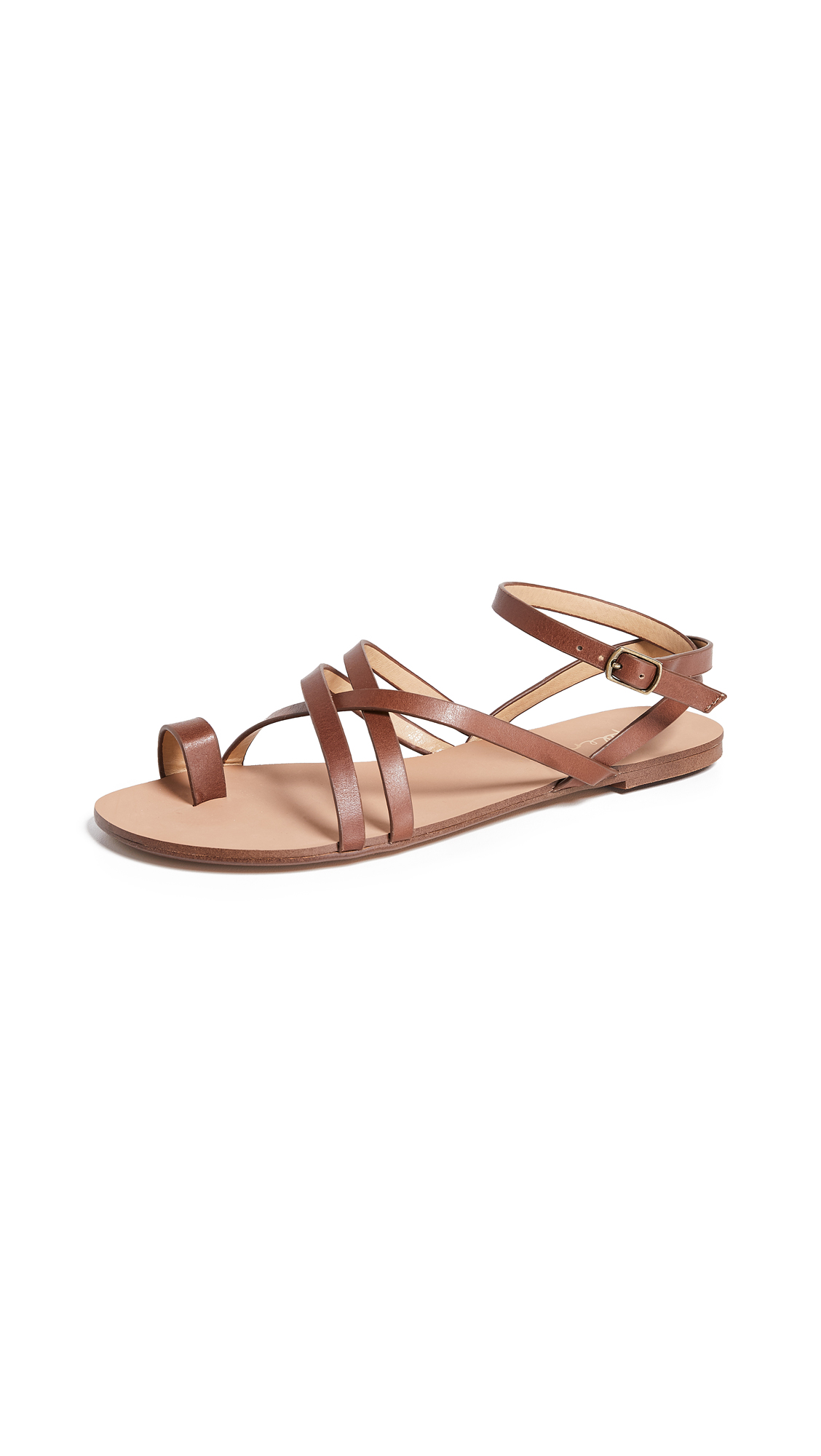 Splendid Sully Strappy Sandals - Chestnut