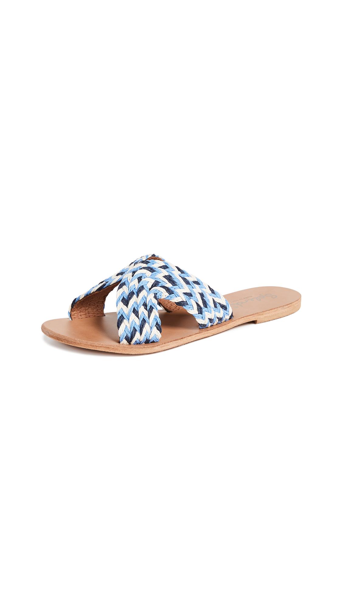 Splendid Sydney Slides - Blue Multi