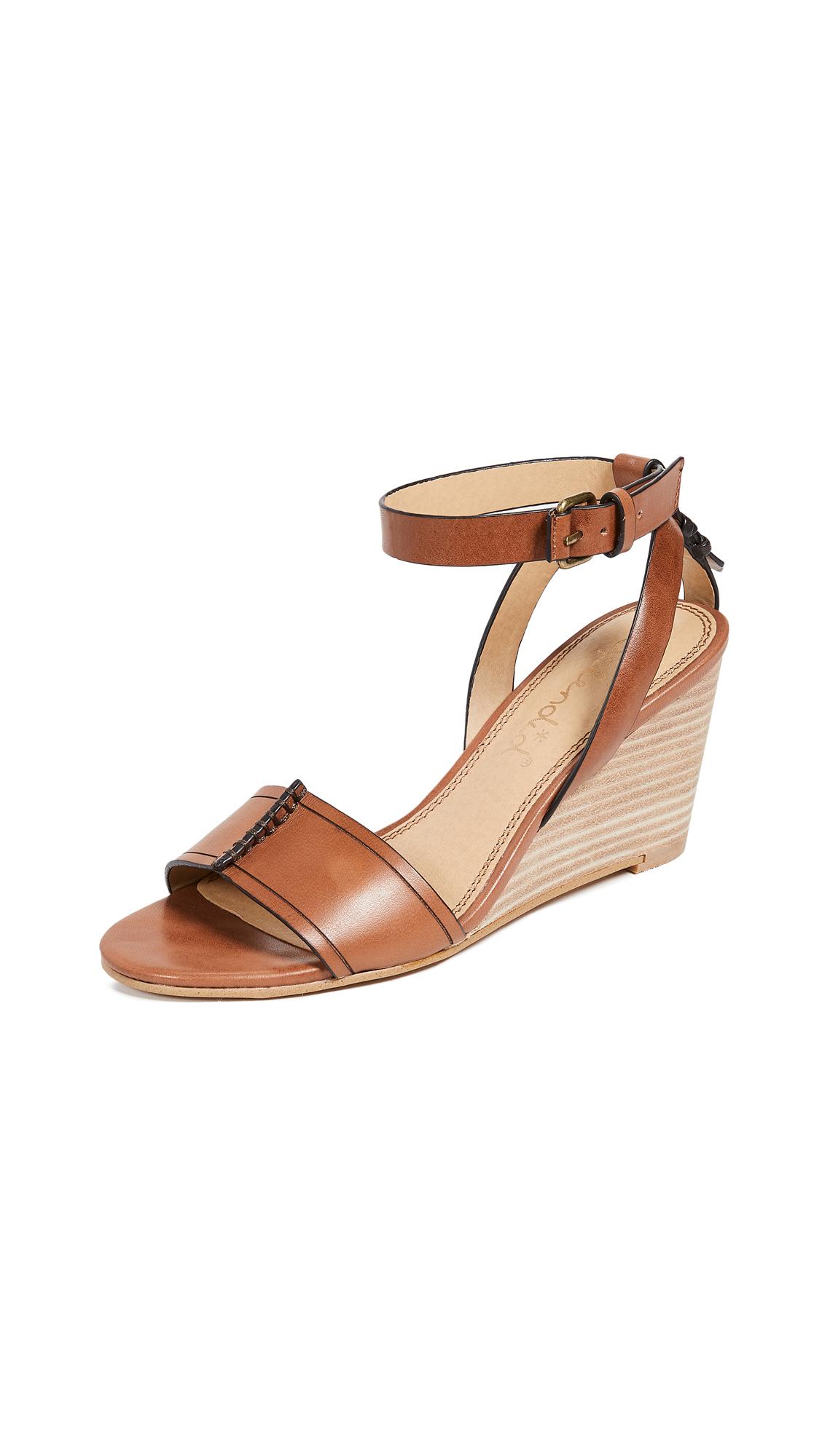 Splendid Tadeo Wedge Sandals - Brick