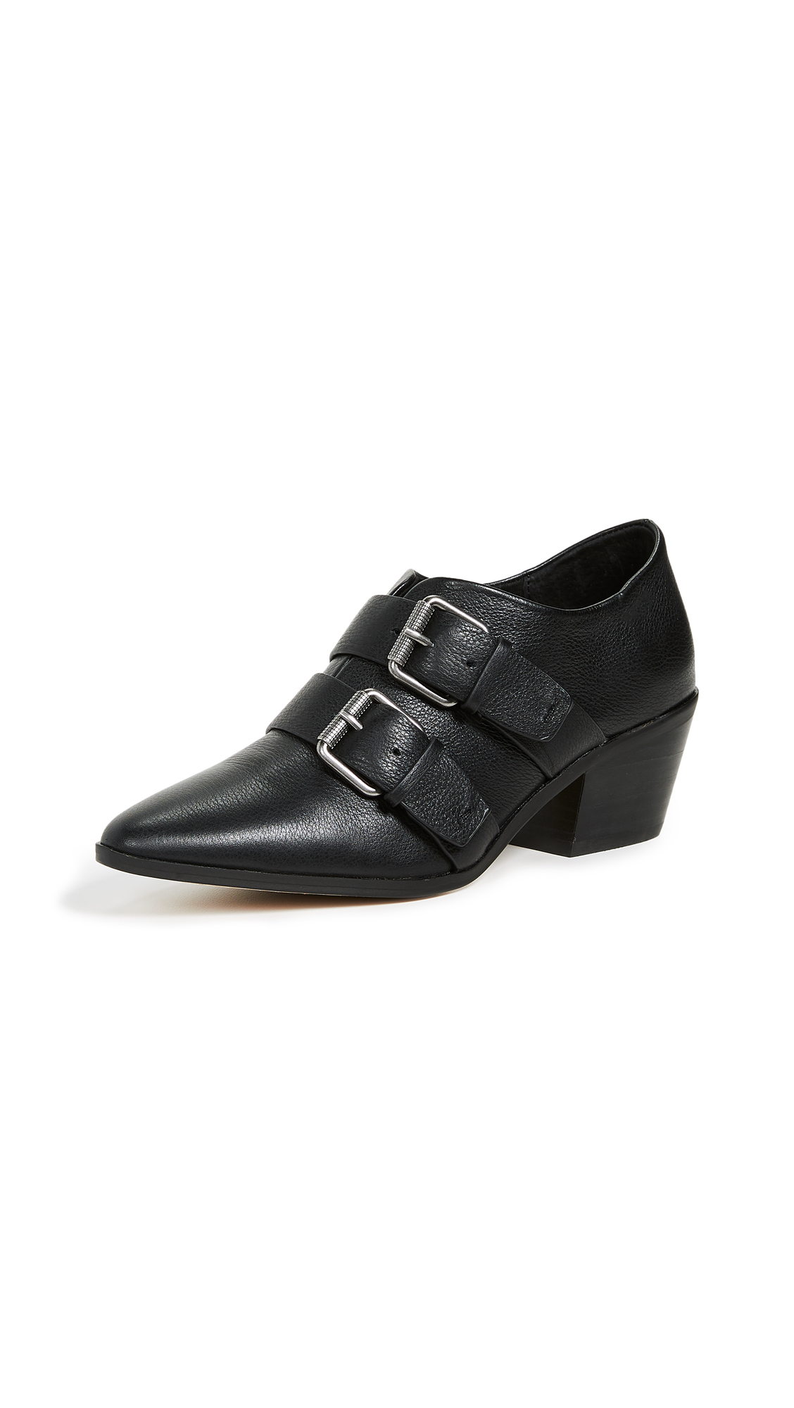 Splendid Carla Point Toe Booties - Black