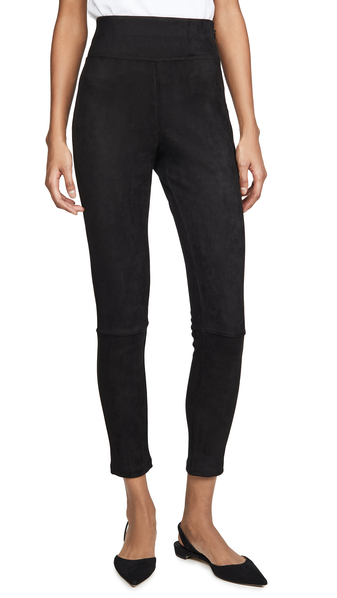 Buy Splendid online - photo of Splendid Faux Sueded Highline Leggings