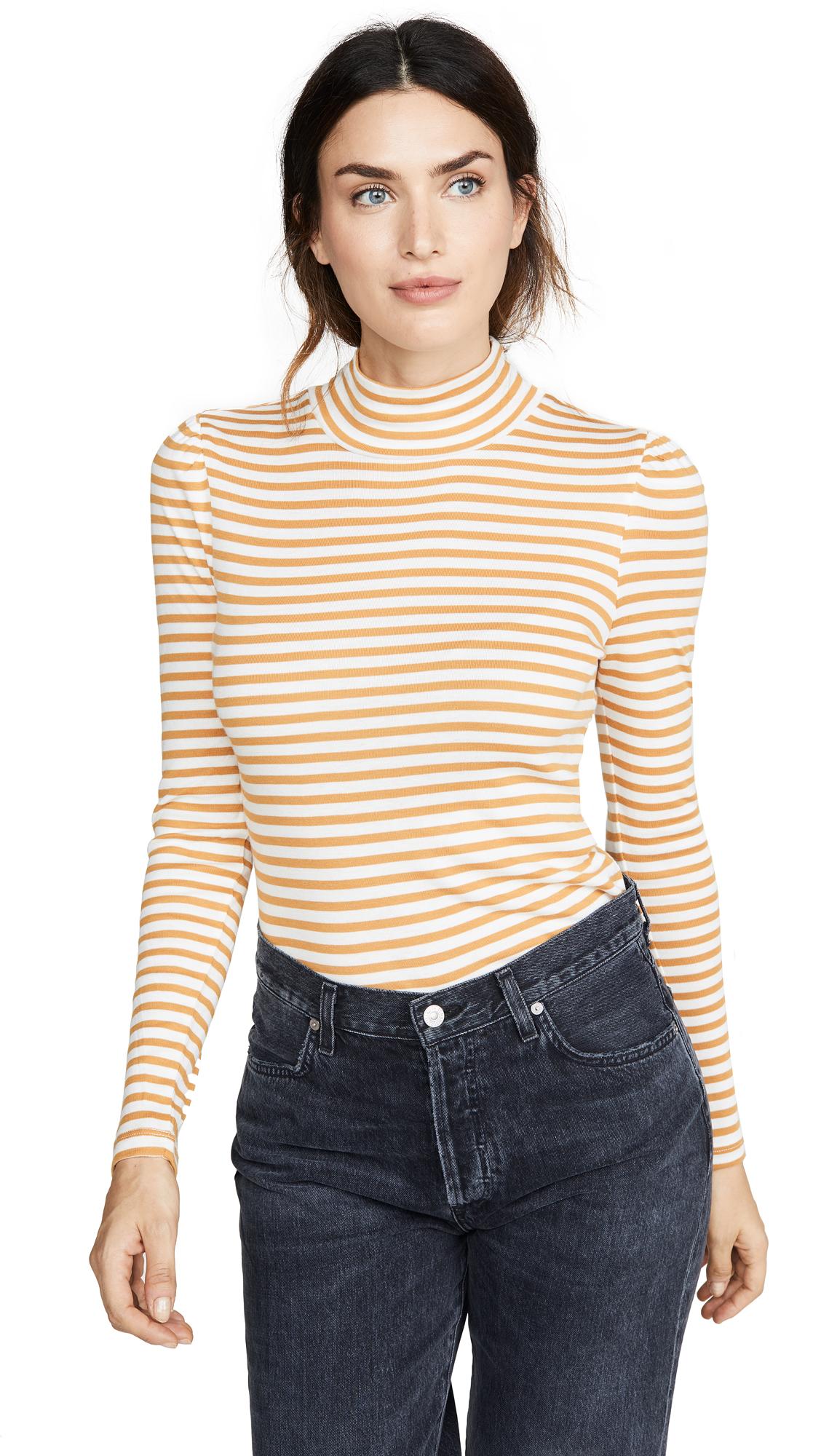 Buy Splendid online - photo of Splendid Wyatt Stripe Turtleneck