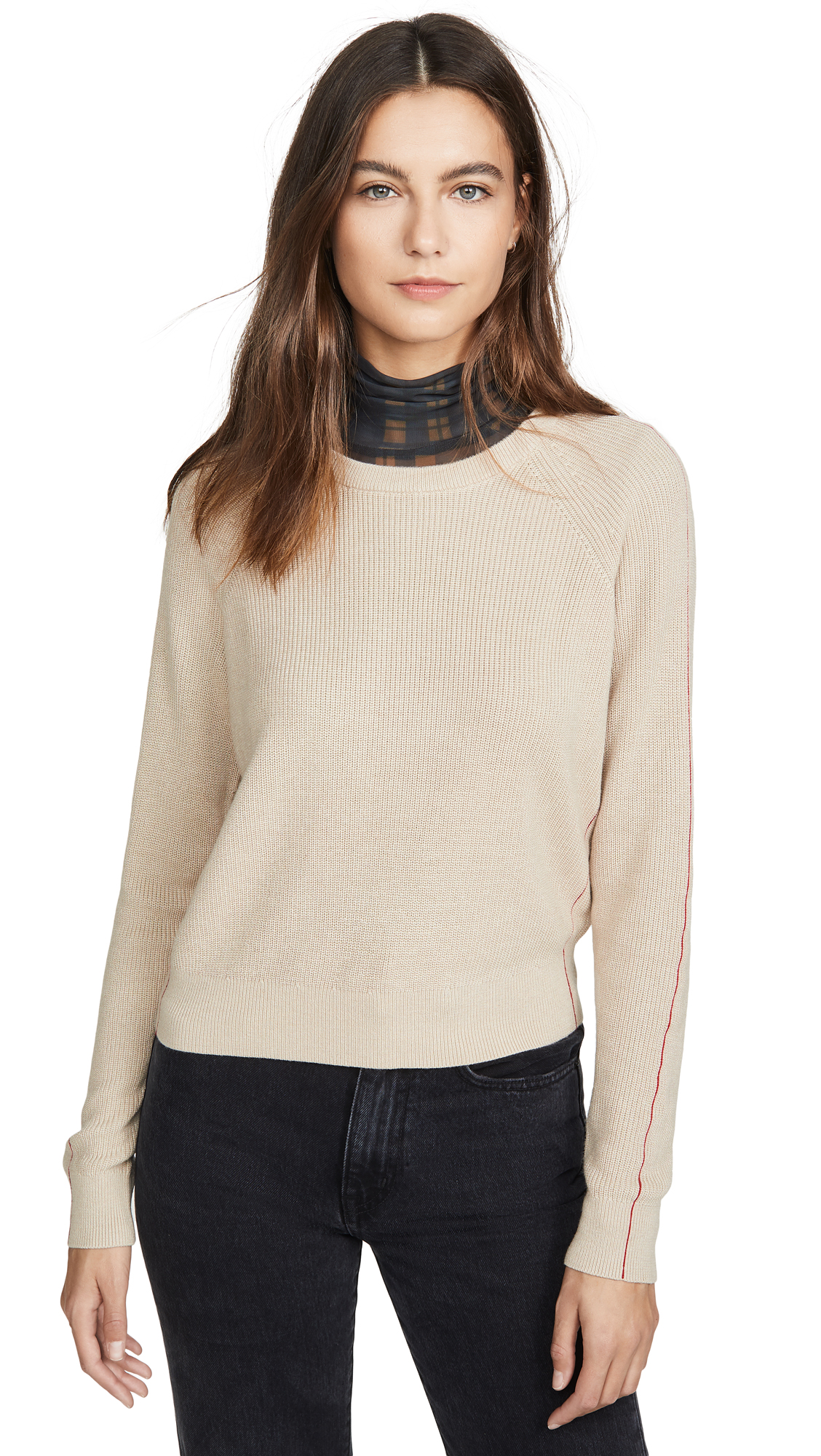 Buy Splendid online - photo of Splendid Pullover with Pop Stitch