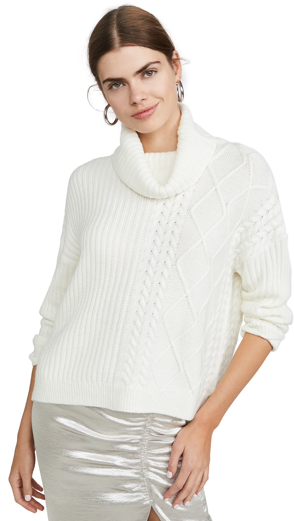 Buy Splendid online - photo of Splendid Lakewood Cable Pullover
