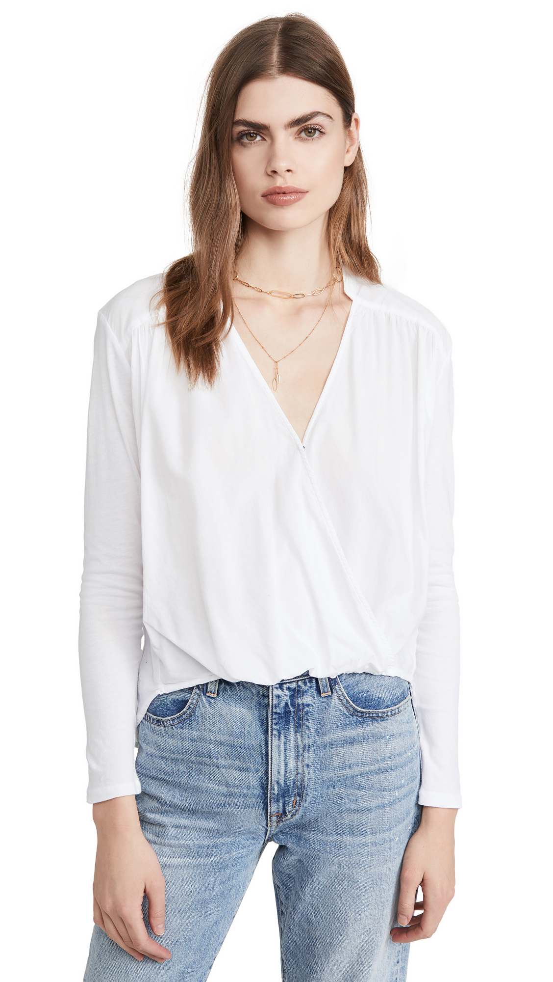 Splendid Foley Surplice Top – 55% Off Sale