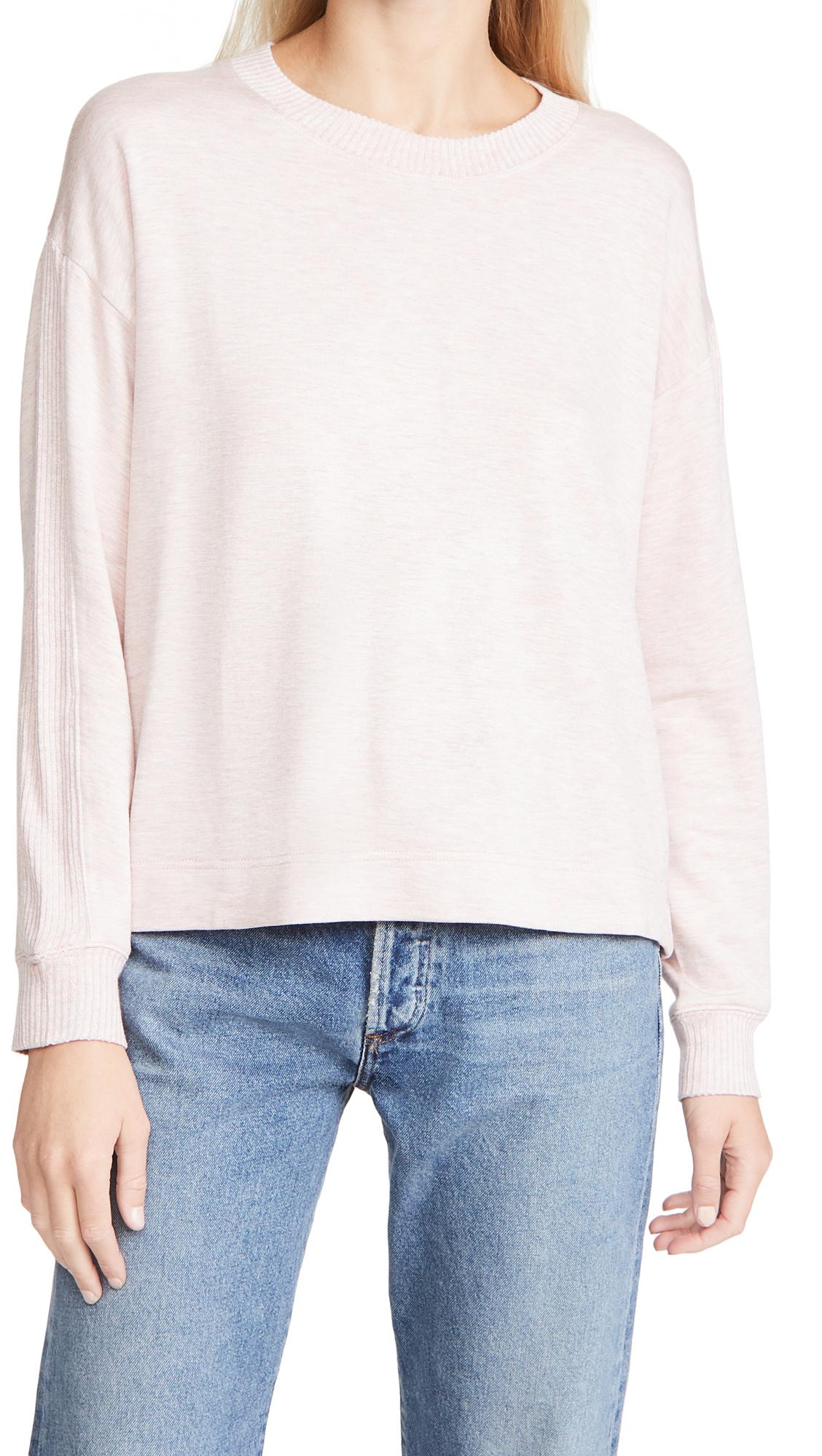 Splendid Acid Wash Supersoft Sweater