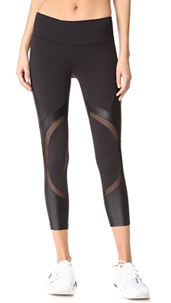 Splits59 Division Capris In Black