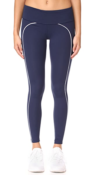 Splits59 Tandem Leggings - Navy/White