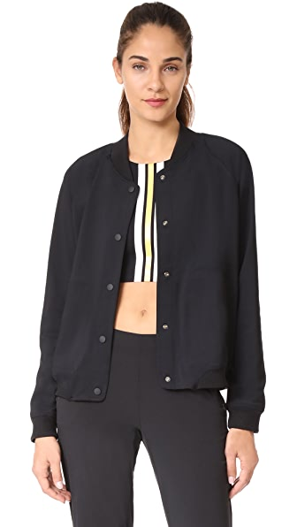 Splits59 B Ball Reversible Bomber In Black