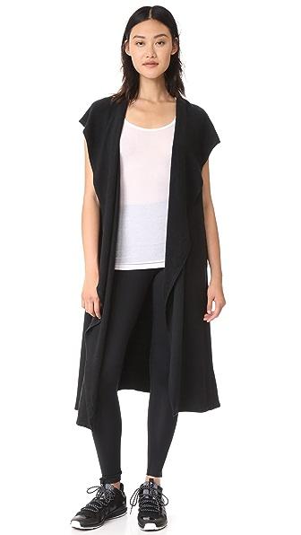 Splits59 Kickback Hoodie Vest - Black