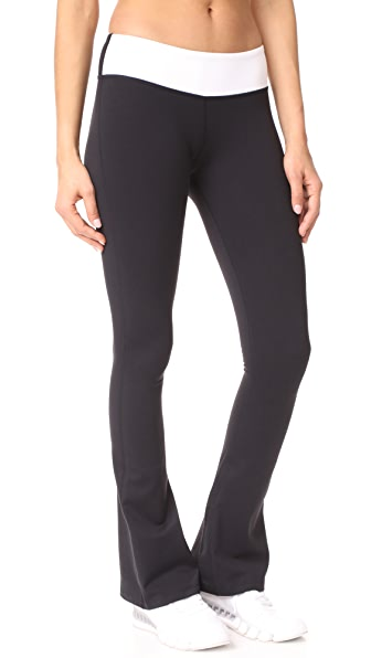 Splits59 Raquel Colorblock Leggings In Black/White