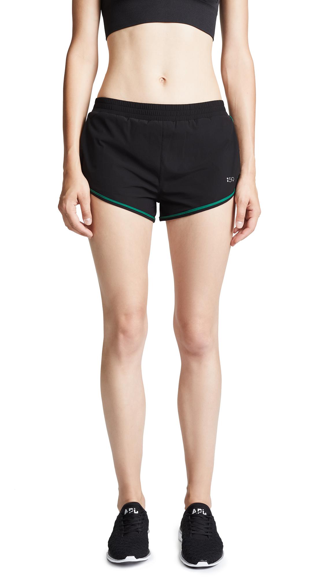 SPLITS59 Go Shorts in Black/Field Print