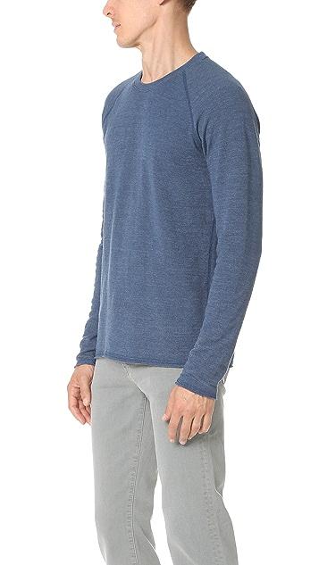 Splendid Mills Long Sleeve Crew Sweatshirt