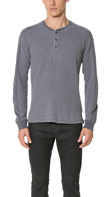 Splendid Mills Long Sleeve Crew Top