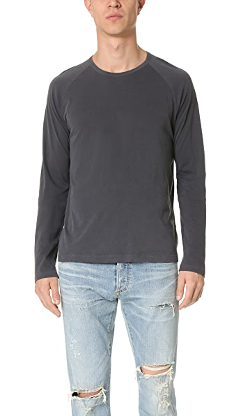 Splendid Mills Long Sleeve Raglan Tee
