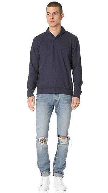 Splendid Mills Shawl Collar Pullover