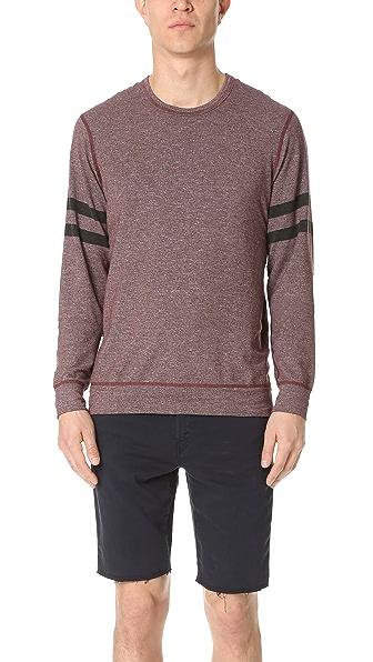 Splendid Mills Graphic Crew Neck Sweatshirt