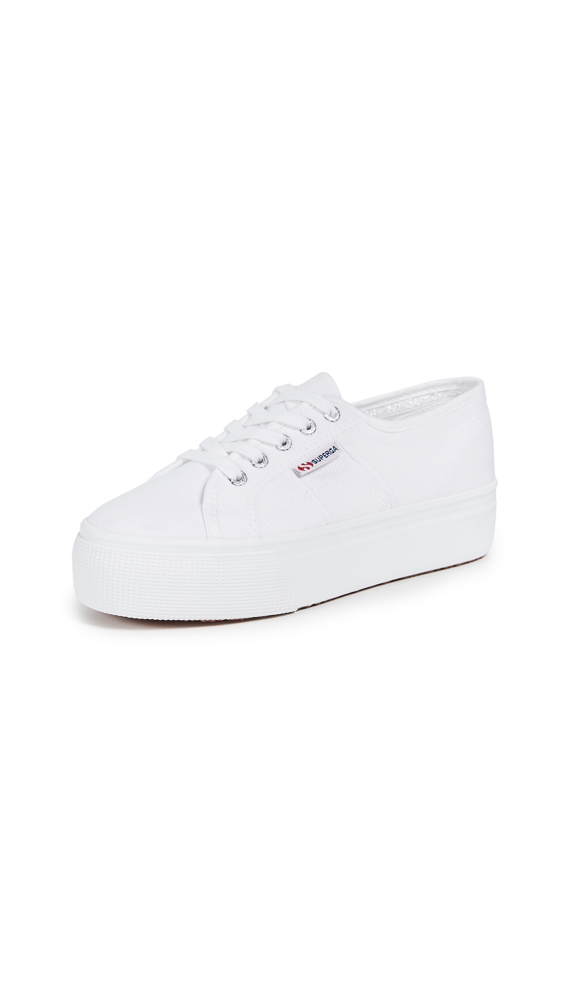 Superga 2790 ACOTW Platform Sneakers - White