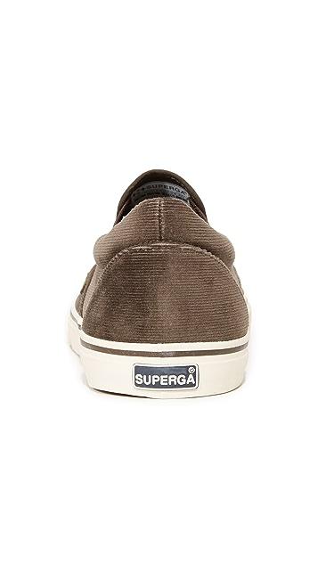 Superga 2311 Corduroy Slip On Sneakers