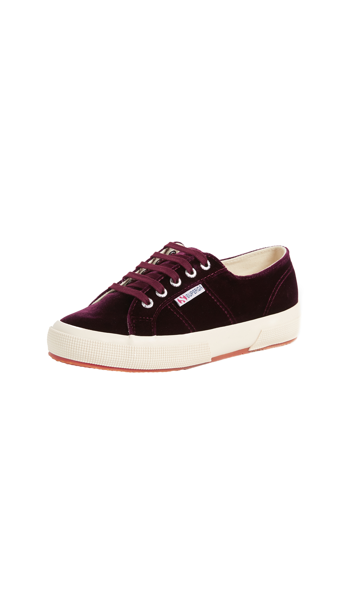Superga 2750 Velvet Sneakers - Bordeaux