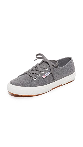 Superga 2750 Wool Sneakers - Grey Pearl