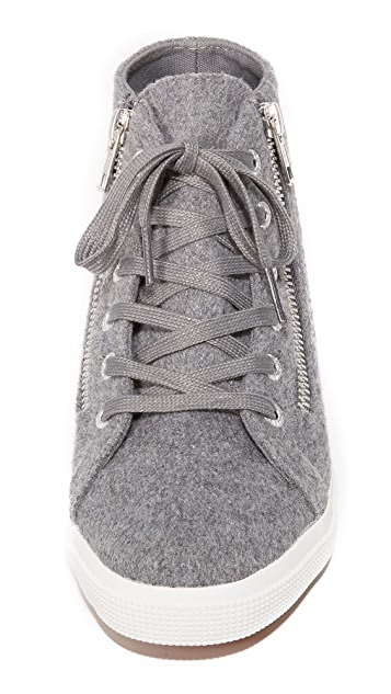 Superga 2224 Wool High Top Sneakers