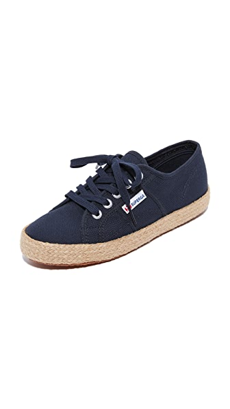 Superga 2750 Cotu Espadrille Sneakers In Navy