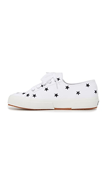 Superga 2750 Embroidered Cotu Sneakers