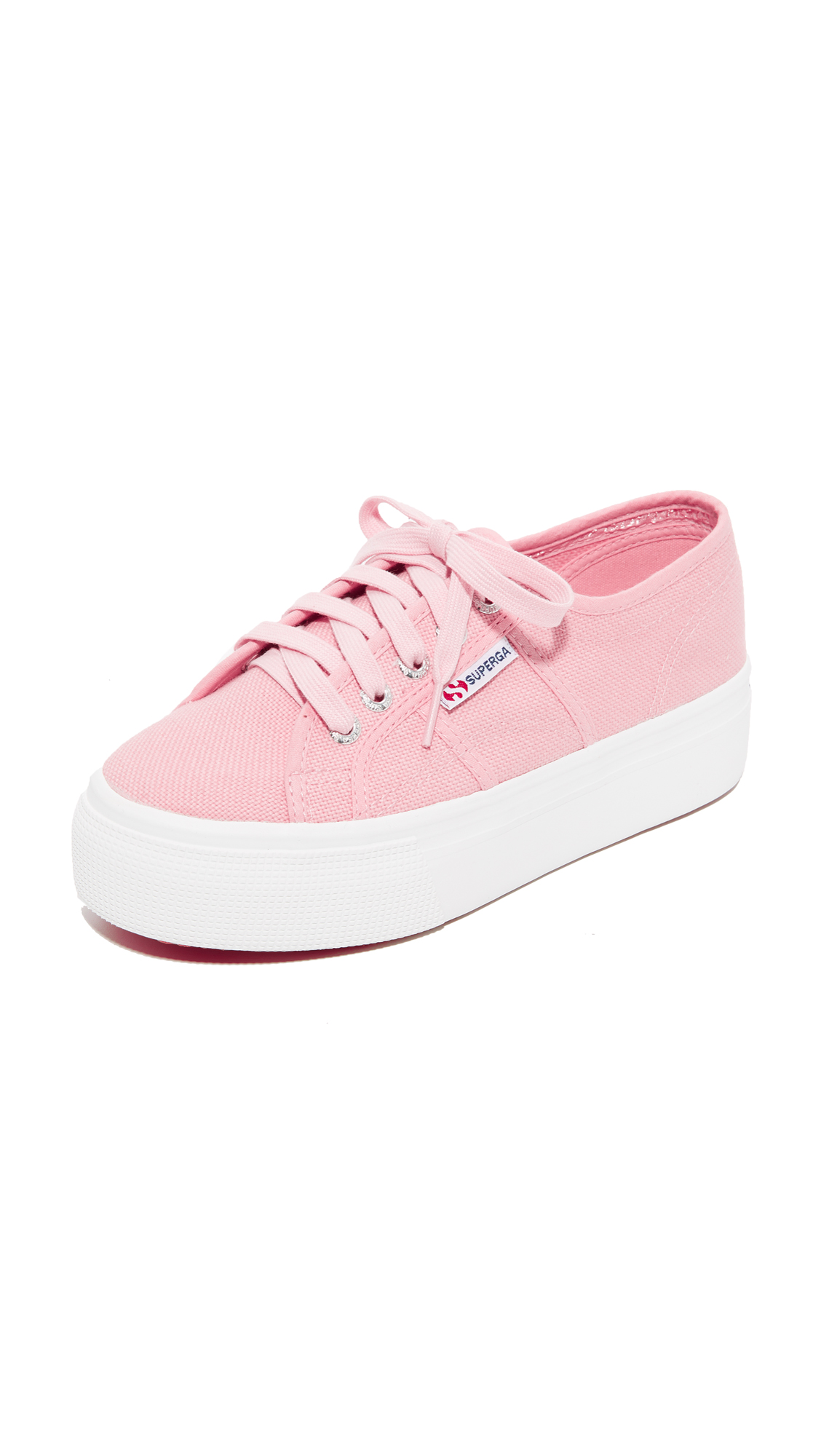 Superga 2790 Platform Sneakers - Vintage Light Pink