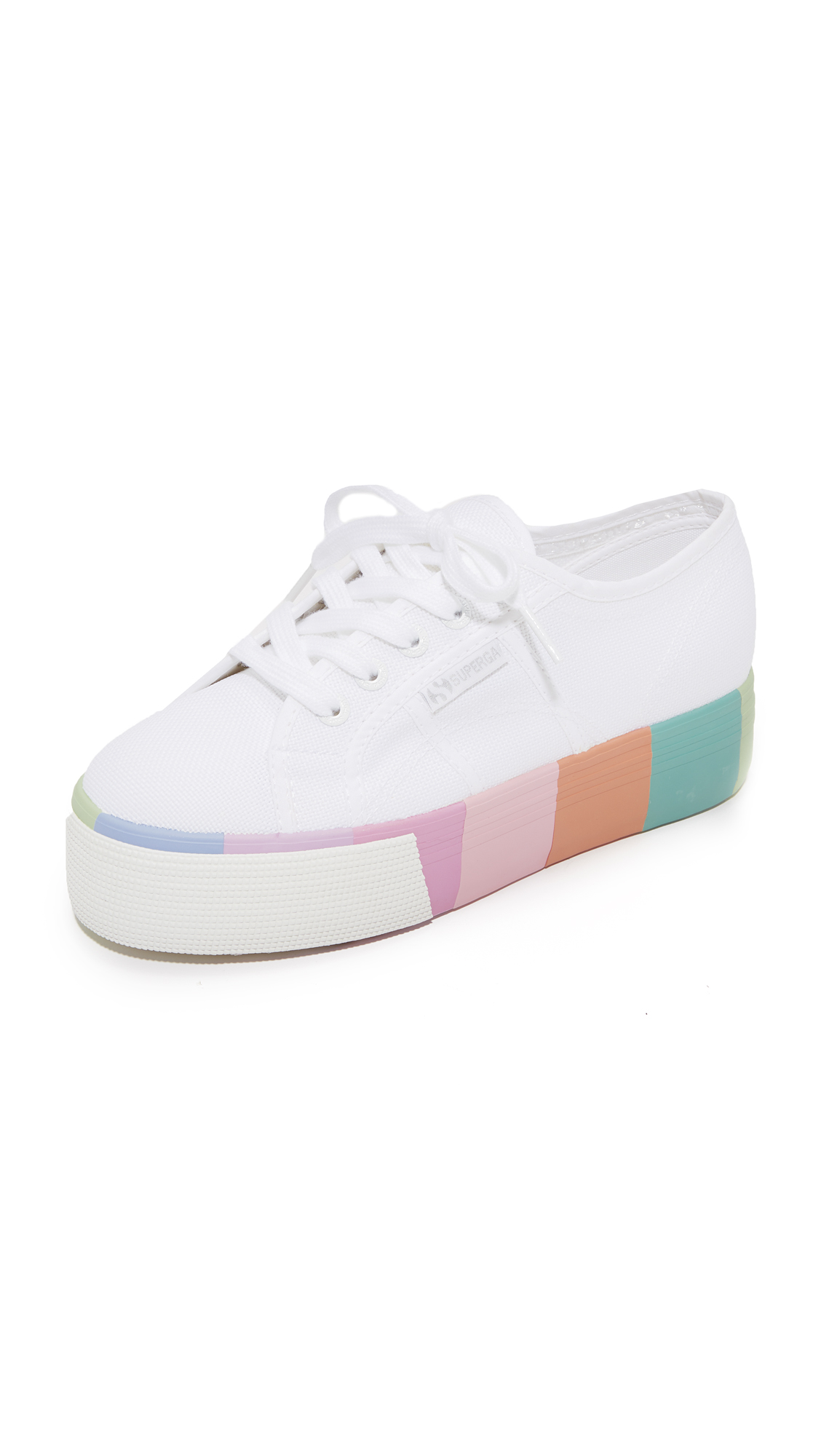 Superga 2790 Multi Platform Sneakers - White