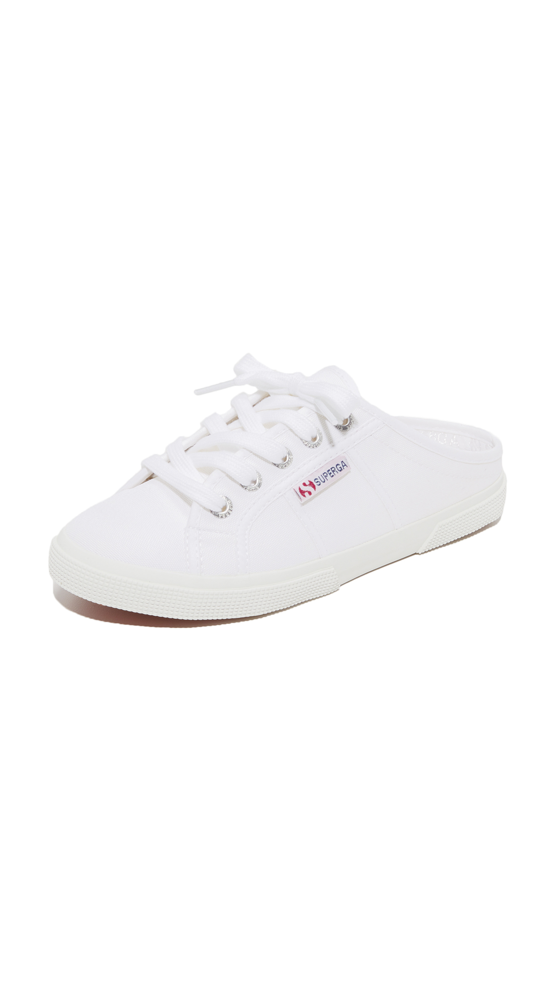 Superga 2288 Mule Sneakers - White