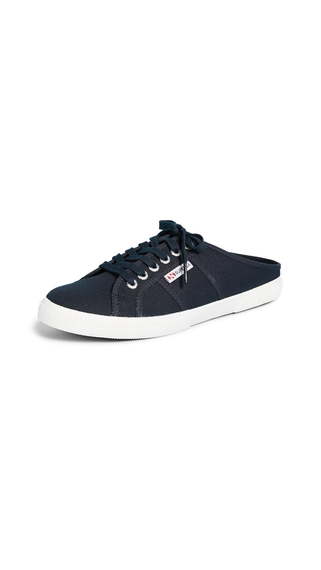 Superga 2288 Mule Sneakers - Navy