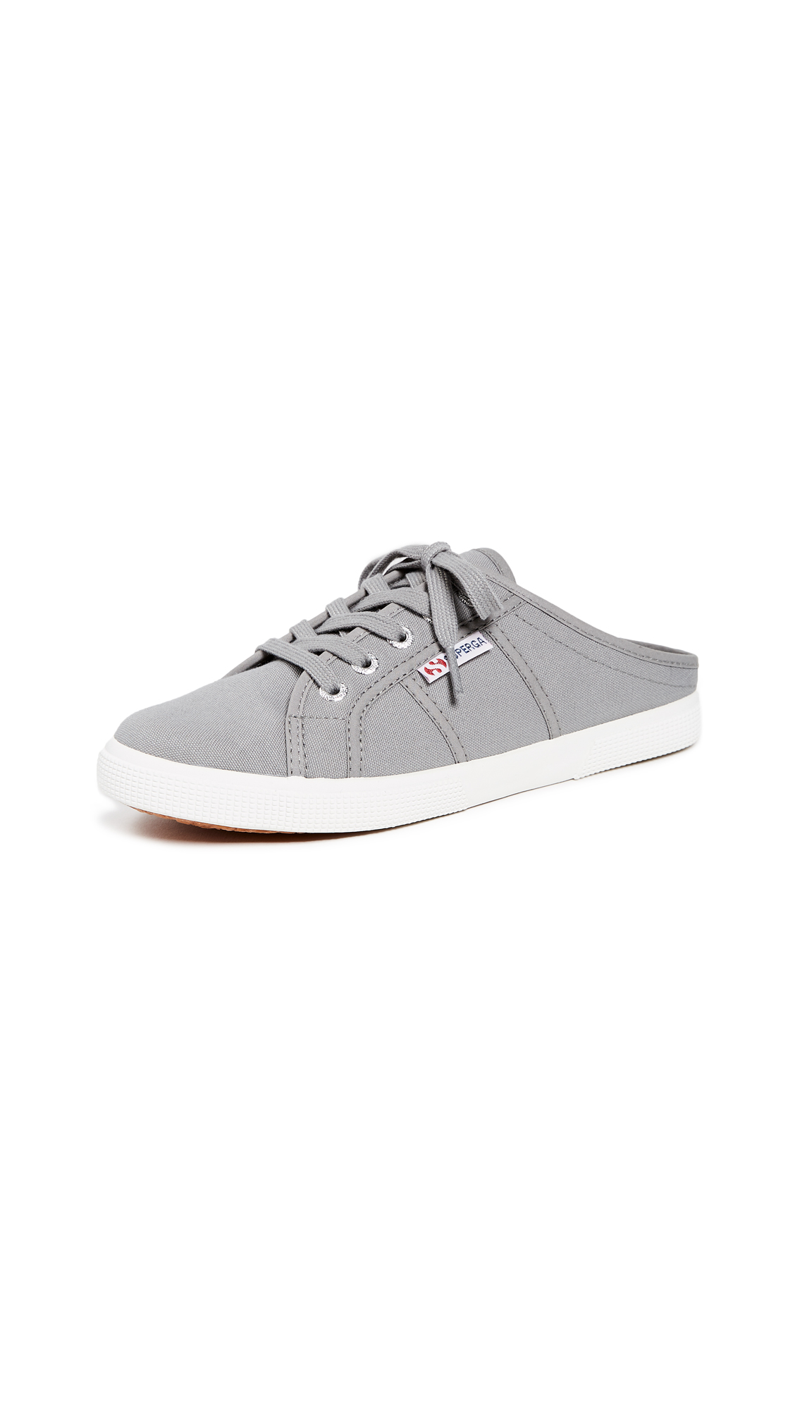 Superga 2288 Mule Sneakers - Grey Sage
