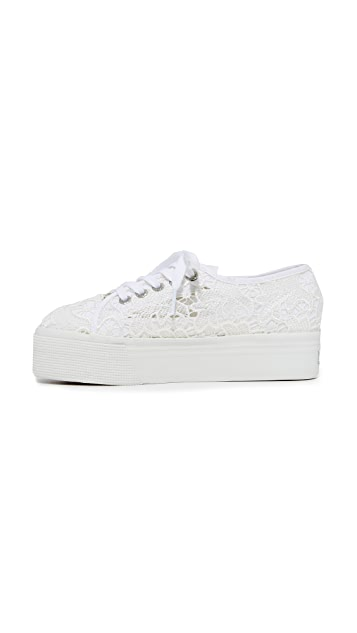 Superga 2790 Macrame Platform Sneakers