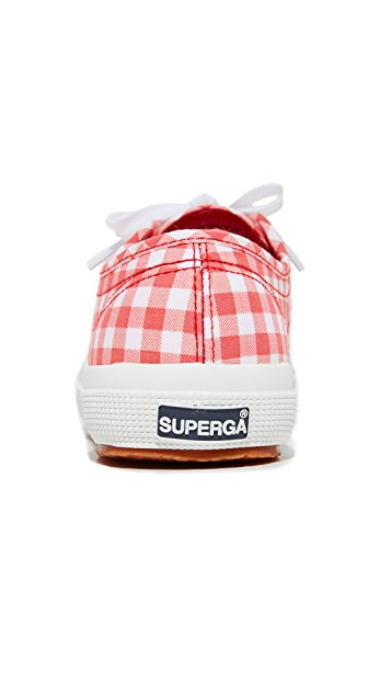 Superga 2750 Gingham Classic Sneakers