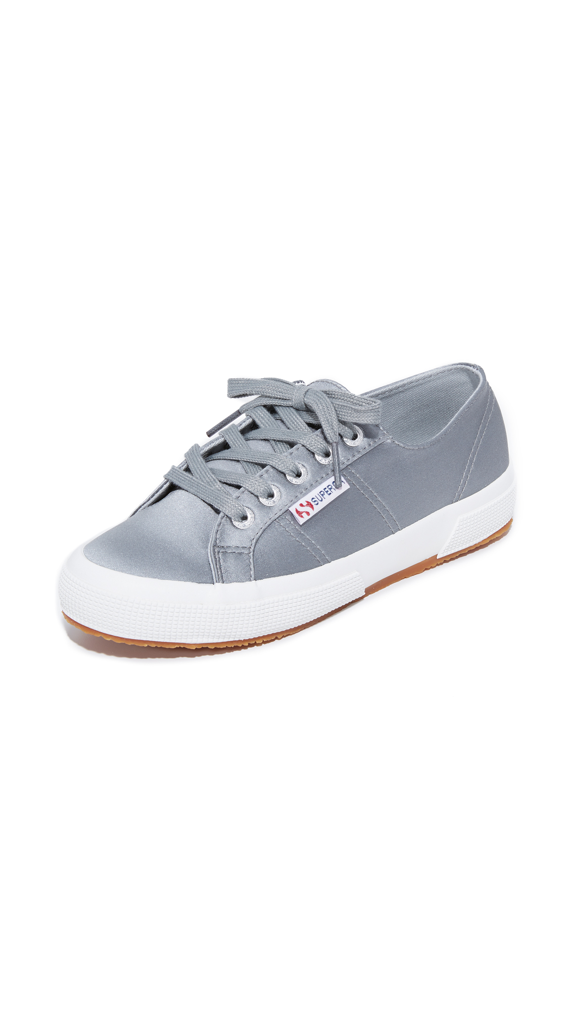 Superga 2750 Satin Classic Sneakers - Grey