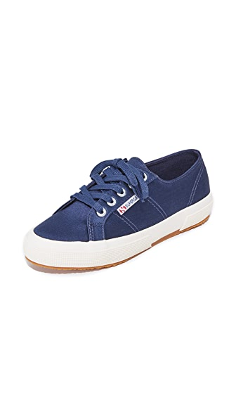 Superga 2750 Satin Classic Sneakers In Navy