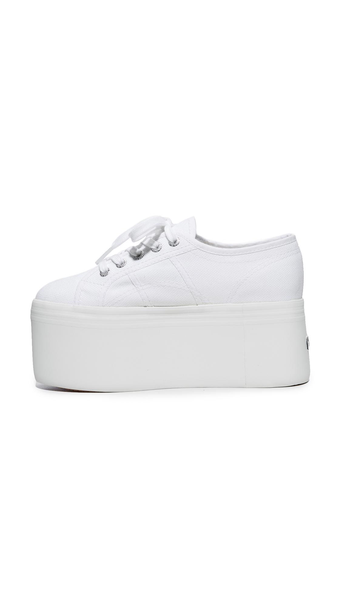 fba2afead49 Superga 2802 Canvas Super Platform Sneakers