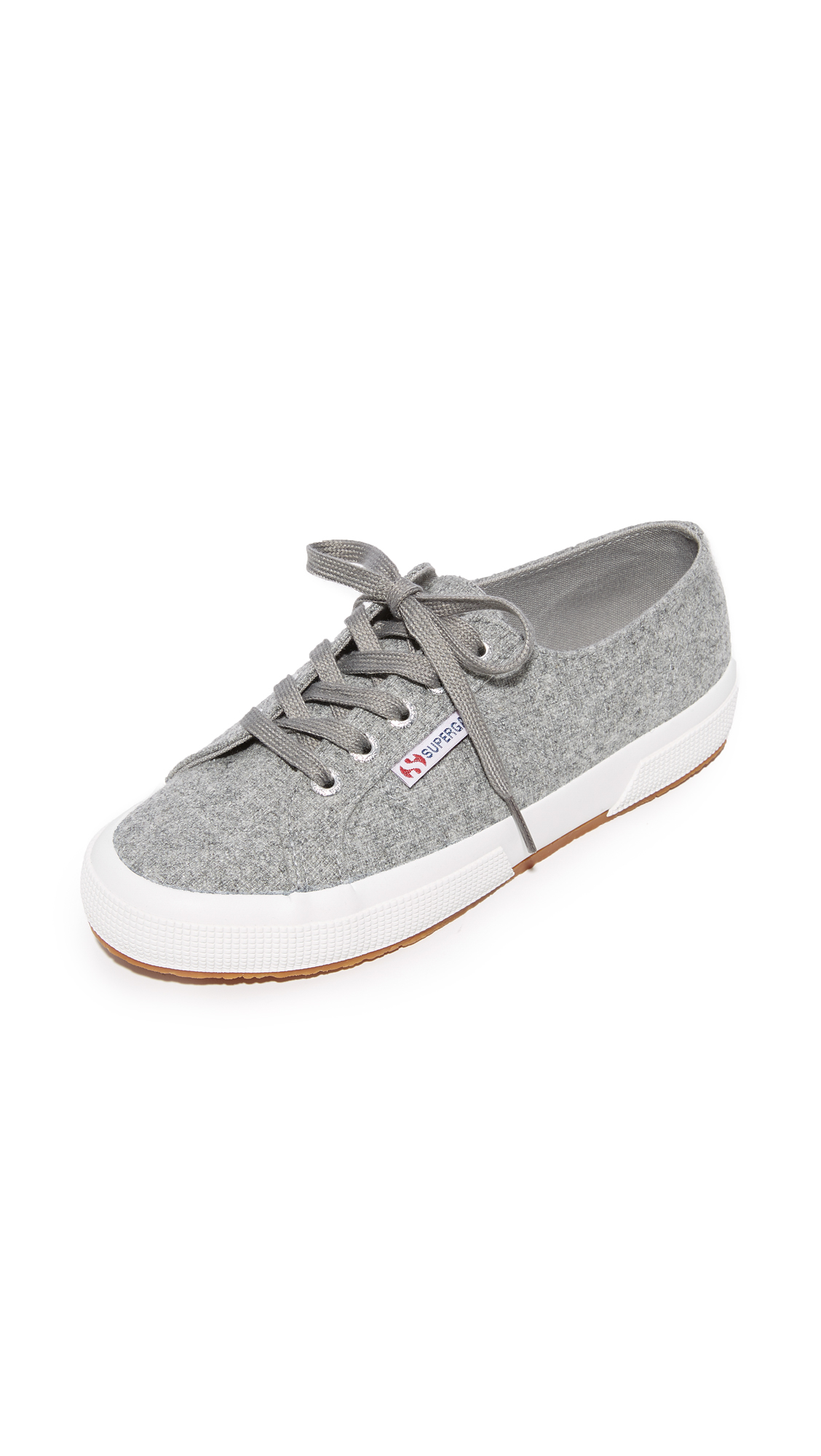 Superga 2750 Polywool Classic Sneakers - Light Grey
