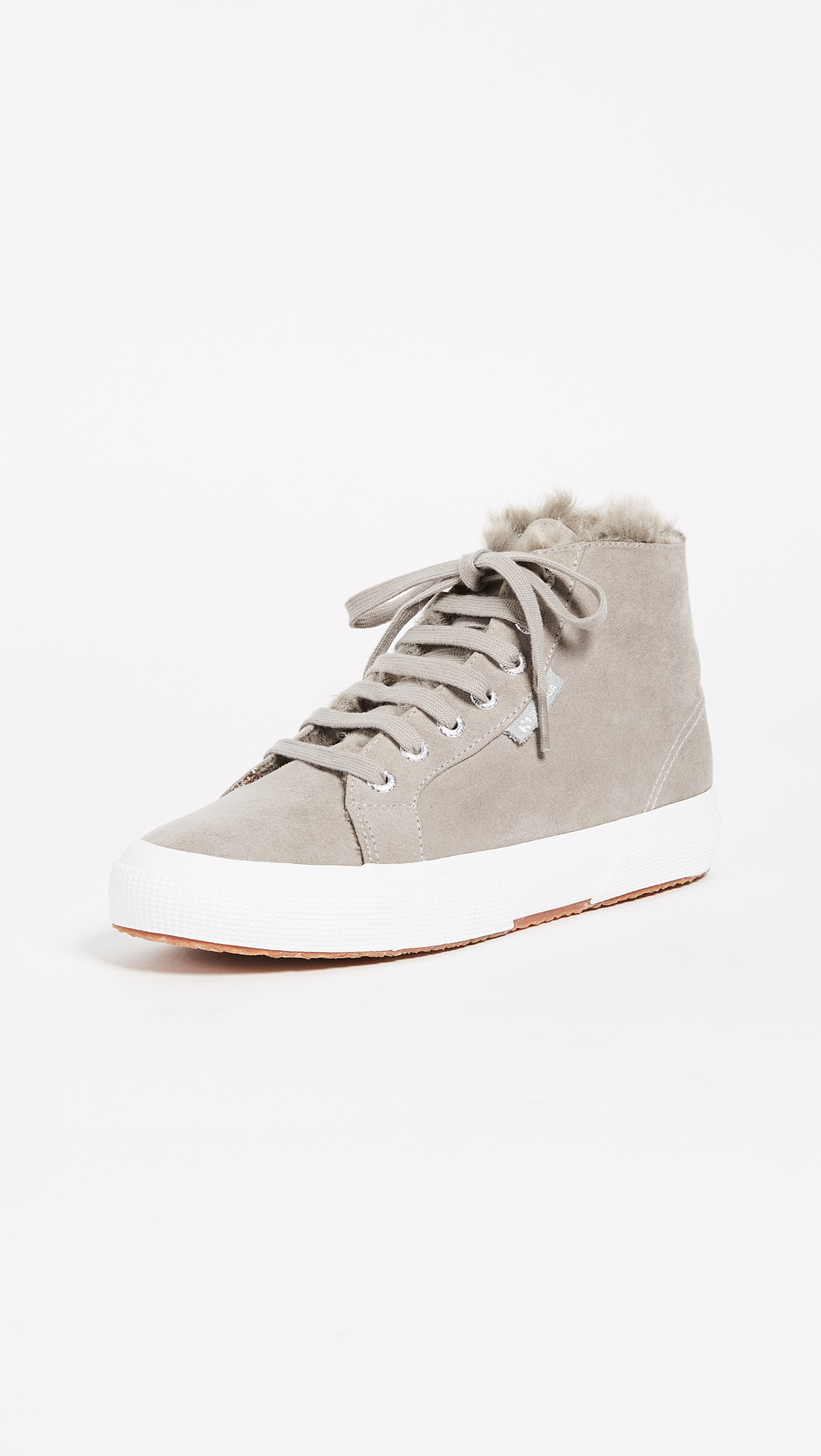 Superga 2795 Sherpa Lined High Top