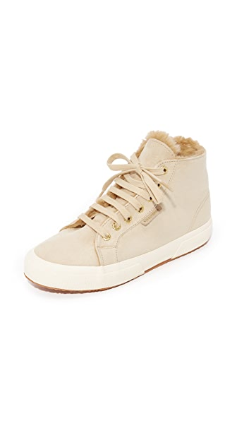 WOMEN'S CLASSIC SUEDE HIGH TOP SNEAKERS