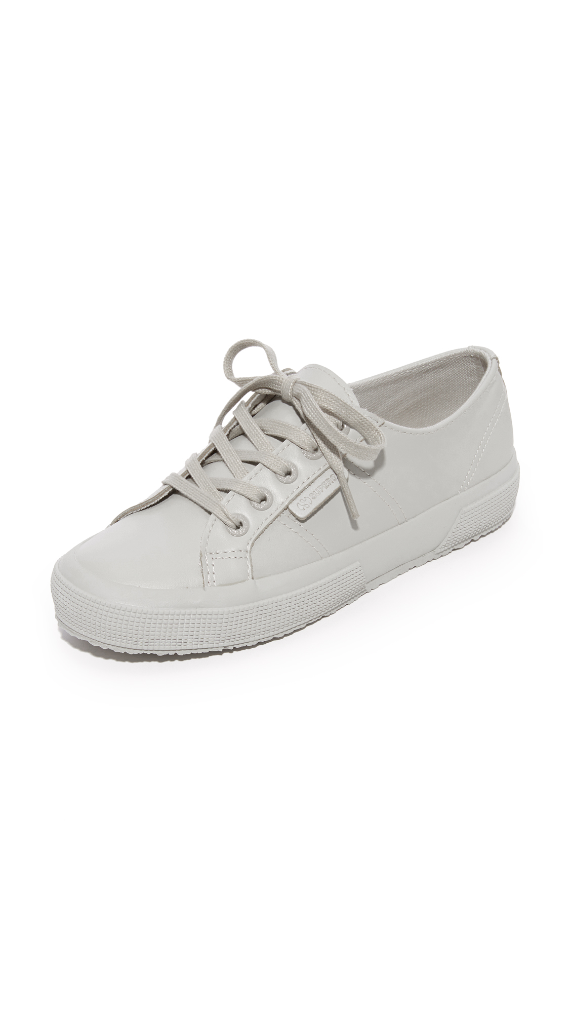 Superga 2750 FGLU Tonal Sneakers - Light Grey