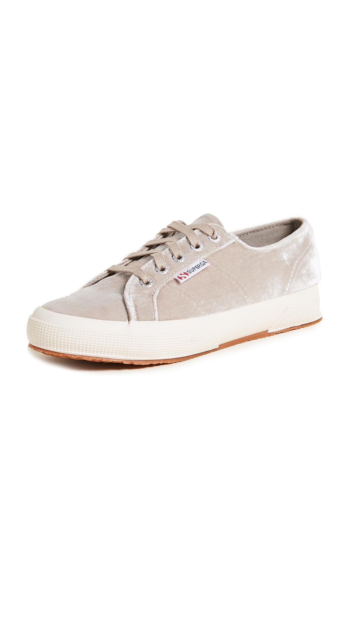 Superga 2750 Velvet Sneakers - Grey