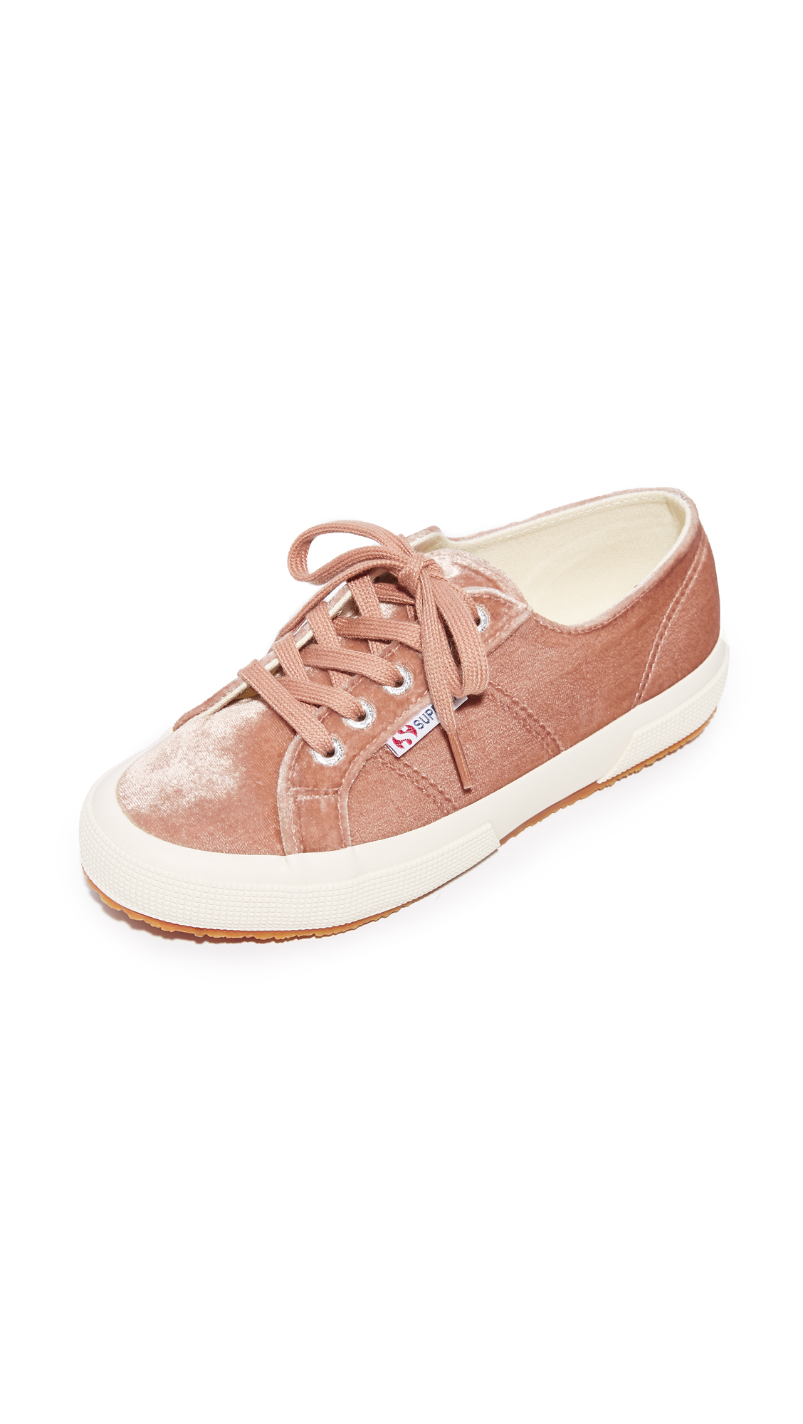 Superga 2750 Velvet Sneakers - Blush