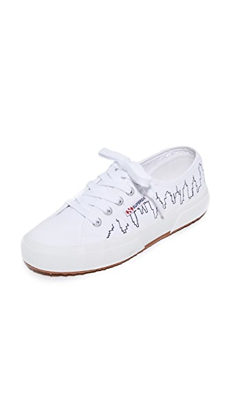 Superga 2750 NYC Skyline Sneakers - White