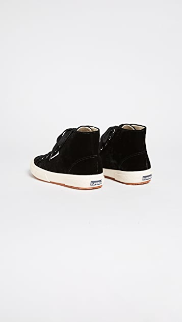 Superga 2795 Velvet High Top Sneakers