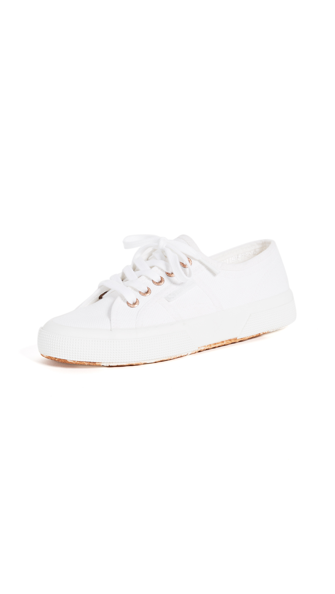 Superga 2750 Cotu Classic Sneakers - White/Rose