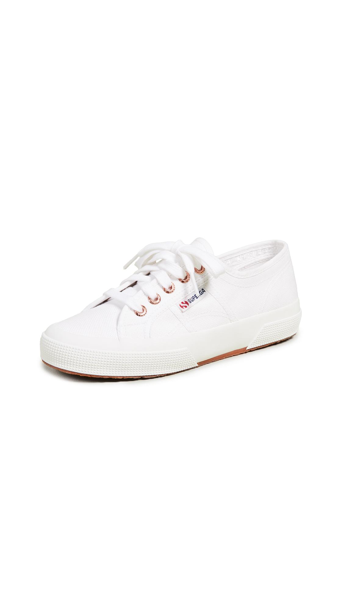 Superga 2750 Cotu Classic Sneakers - White/Rose
