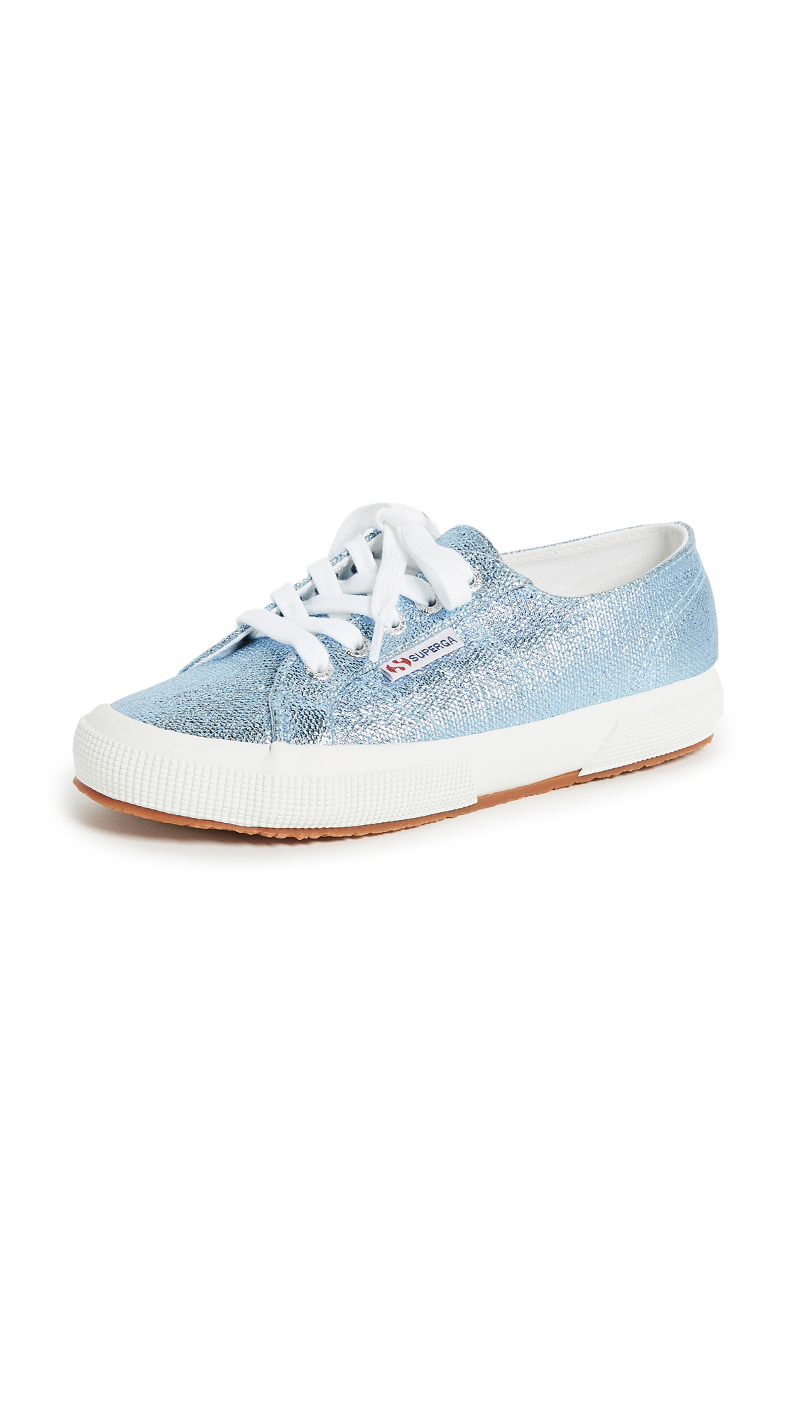 Superga 2750 Metallic Sneakers - Light Blue
