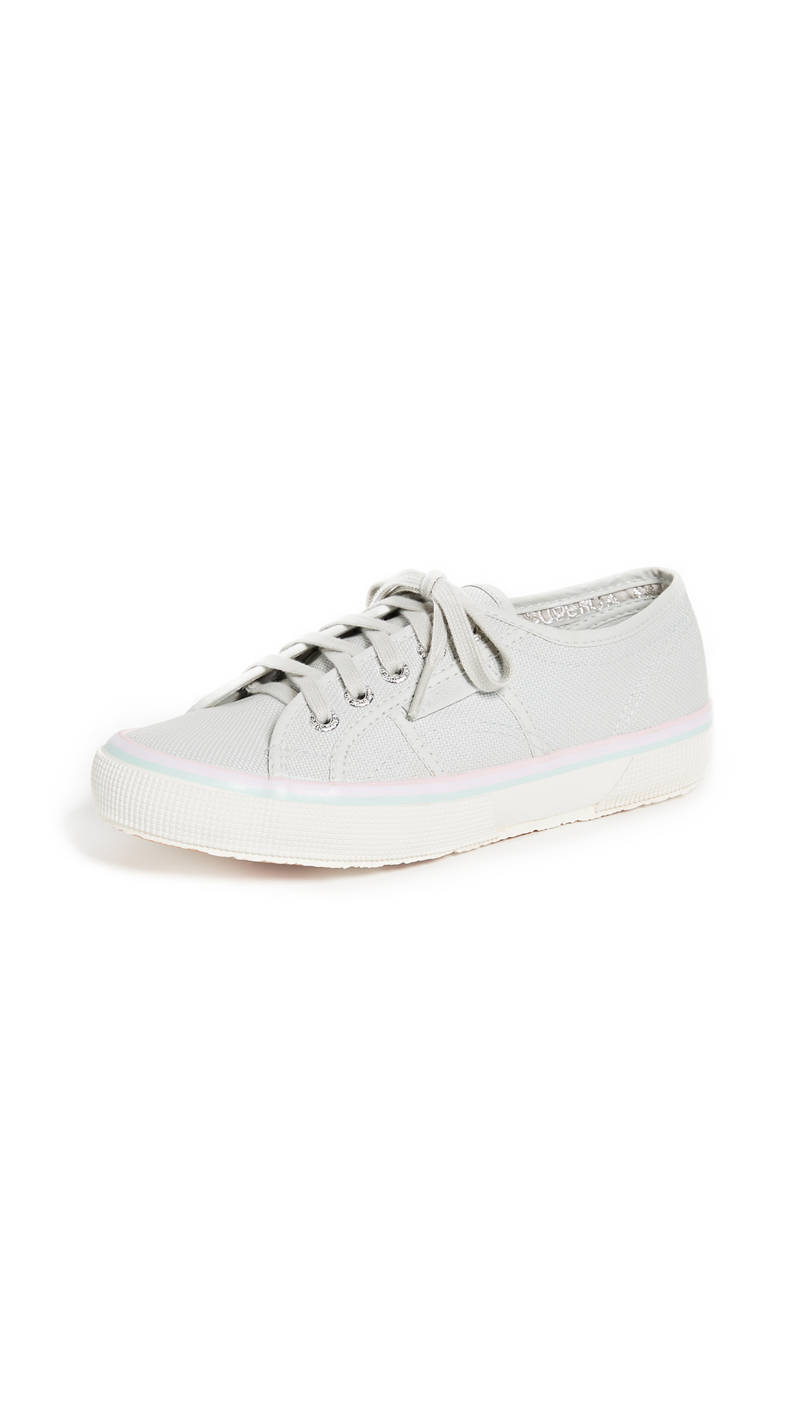 Superga 2750 Cotu Multi Stripe Sneakers - Aluminum